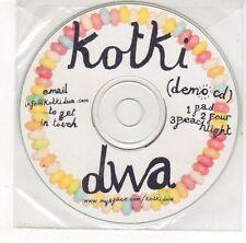 (EH712) Kotki Dwa, Pad / Four / Peach Night - DJ CD
