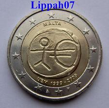 Malta 2 euro 10 jaar EMU 2009 UNC