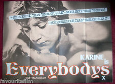 Cinema Poster: EVERYBODYS 1970s (Quad) Eastman Colour Film