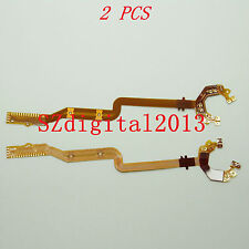 2PCS/ NEW Lens Shutter Flex Cable For Canon A1000 A1100 A3000 A3100 A3300 E1
