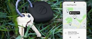 Samsung Galaxy Smart Tag Bluetooth GPS Location Tracker Key Chain Black US