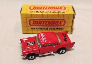 Vintage Matchbox Diecast 1:64 Heinz 57 Promotional Chevy Hot Rod Car Flip Front