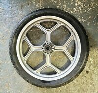BMW K100 1989 FRONT WHEEL RIM AND TYRE