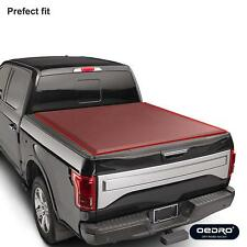 oEdRo TRI-FOLD Truck Bed Tonneau Cover for 2014-2018 Chevy Silverado/GMC 5.8'