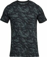 Under Armour Ua Men's Sportstyle Printed Camo T-Shirt - Small - Black - New