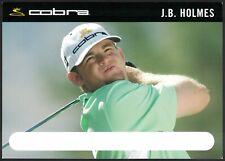 JB HOLMES 2006 COBRA CLUBS AD PROMO SP ROOKIE & FIRST GOLF CARD