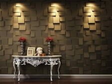 *RECTANGLES* 3D Decorative Wall Stone Panels.ABS Form Plastic mold for Plaster