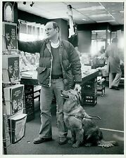 1980 Original DETROIT FREE PRESS Photo by WILLIAM ARCHIE leader dogs for blind