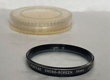 Photax 46mm Cross Screen  Filter, & Keeper