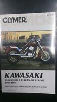 New Clymer Kawasaki Service Manual Vulcan 800 & Vulcan 800 classic 1995-2005