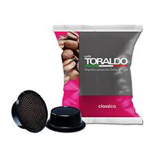 100 CAPSULE CAFFE TORALDO MISCELA CLASSICA COMPATIBILI A MODO MIO