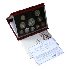 1997 Royal Mint UK Coinage Deluxe 10 Proof Coin Collection