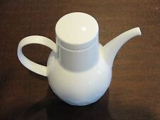 "Rosenthal Lotus White Mini Coffee Pot 6 3/8"""