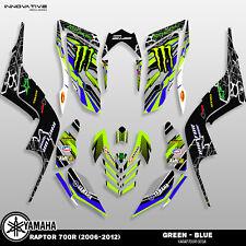 Yamaha Raptor 700R (2006-2012) Decal Graphics Kit