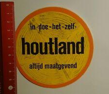 Aufkleber/Sticker: in doe het zelf houtland altijd maatgevend (08101636)