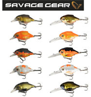 Savage Gear 3D Crucian Crank Fishing Lure 3.4 - 6.4cm/ 3.0 - 23g Various Colours