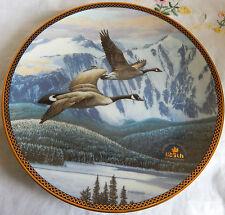 """""""THE RETURN HOME/ LE RETOUR AU BERCAIL"""" Proud Passage Canada Plate w/COA (8.25"""")"""