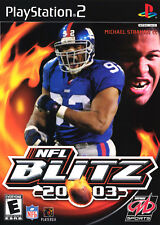 NFL Blitz 20-03 (2002) Brand New Factory Sealed USA Playstation 2 PS2 Game