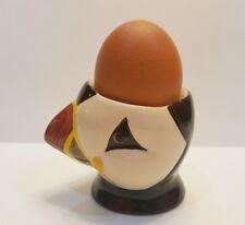 Cute Bird Figurine Egg Cup Lovely Thai Vintage Ceramic Kitchenware Collectible