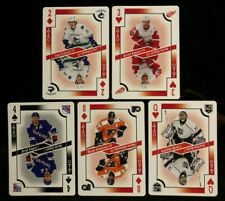 2017-18 O-PEE-CHEE Playing Cards 5 Card Lot OPC