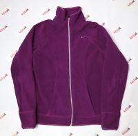 Vintage Nike Jacket Women's Small Plum Swoosh