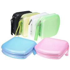 Portable 40 Disc CD DVD Storage Zipper Bag Case Hard Box Wallet Album Holder EC