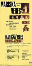 "(Shocking Blue) Mariska Veres Shocking Jazz Quintet ""Shocking you!"" Neue CD!"