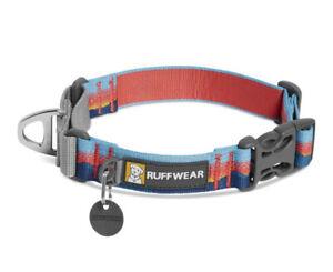 RUFFWEAR WEB REACTION COLLAR IN Sunset SZ 17-20in NWOT