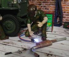 Arc welding unit with flashing LED light for diorama garage 1/24 + BIN bonus