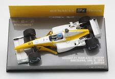 MINICHAMPS RENAULT F1 B201 TESTCAR BARCELONA 2002 BUTTON 1:43