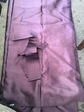 """Dreams n Drapes Purple  curtains 52""""length 44"""" width  curtains lined"""