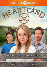 Heartland: The Complete Sixth 6th Season Six 6 (DVD, 2016, 5-Disc Set)  NEW