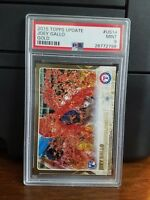 2015 Topps Update Joey Gallo Rangers Gold Rookie Card #US14 PSA 9 Mint POP 2