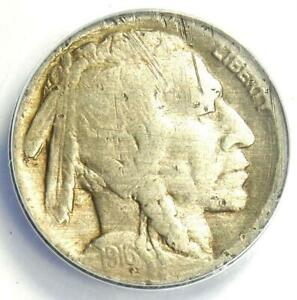 1916 Doubled Die Obverse Buffalo Nickel 5C FS-101 - ANACS AG3 Details - Rare DDO