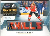 PATRICK KANE 2015-16 SP Game Used ASS Relic 6-Color PATCH Blackhawks LOGO #18/25