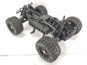 *CUSTOM BUILT* Extended Savage Flux XL 1/8 Monster Truck Roller Rolling Chassis