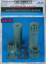 Aires 1/32 Eurofighter EF-2000A Typhoon Late Exhaust Nozzles for Revell # 2126