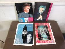 Queen Official International Fan Club 1994 Newsletters - set of four(4)