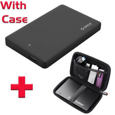 Orico 2-5inch SSD SATA Hard Disk HDD External Enclosure USB 3 With Case 2599
