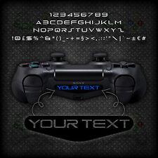 2x Playstation PS4 Controller Light Bar Personalised Custom Vinyl Decal Sticker
