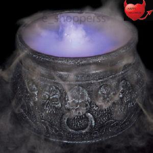 Cauldron Mister Halloween Decoration Colour Changing Spooky Decortation 7''