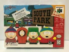 South Park (Nintendo 64 N64 1998) NEW FACTORY SEALED! - RARE - Free Ship