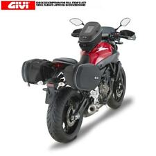SIDE PANNIERS GIVI 3D600 25L AND FRAMES SPECIFIC FOR YAMAHA MT-07 (14 > 17)