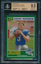 2009 Score National VIP Promo rookie #2 Matthew Stafford rc BGS 9.5