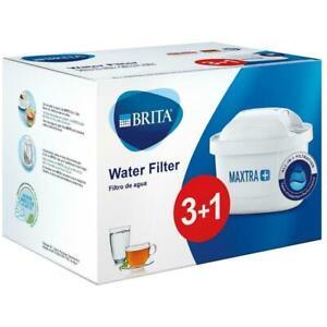 4 x Pack BRITA Maxtra+ Plus Water Filter Jug Replacement Cartridges Refills UK