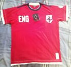 Hamnett England Football T Shirt Jersey Red St George Euros XL - BNWT