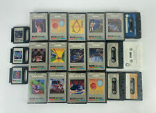 Lot of TIMEX Sinclair Vintage Video Game Personal Computer Software Cassettes
