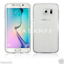Cover Custodia Case 0,3 mm Per Samsung Galaxy S6 Trasparente Silicone Soft Gel
