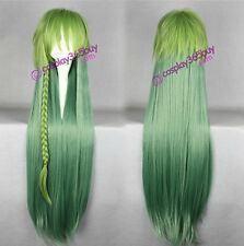 Amnesia UKYO cosplay wig long straight wig mixed color women's wig