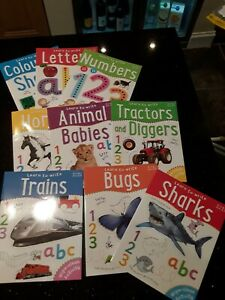 Learn to Write Books - Wipe clean and Reuse